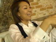 Asian doll Hikari having a rough fuck session