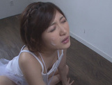 Short-haired Japanese teen Sari Kawai experiences hardcore headfuckasian babe, cute asian}