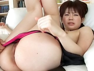 Hina Kawamura Naughty Japanese babe Enjoys Lots Of Cock