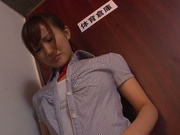 Rough bondage porn for young Kokone Mizutani