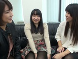 Japanese AV Model pussy licking in the best lesbian traits picture 12