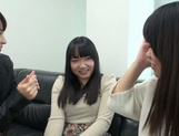 Japanese AV Model pussy licking in the best lesbian traits picture 13