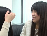 Japanese AV Model pussy licking in the best lesbian traits picture 15