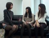 Japanese AV Model pussy licking in the best lesbian traits