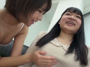 Japanese AV Model pussy licking in the best lesbian traits