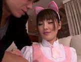 Sugary Japanese AV girl Tsubasa Amami has pleasure of cock picture 11