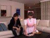Sugary Japanese AV girl Tsubasa Amami has pleasure of cock