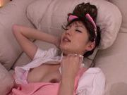 Sugary Japanese AV girl Tsubasa Amami has pleasure of cockasian women, asian girls, young asian}