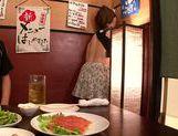Pretty Japanese redhead Hana Nonoka likes blowjob action