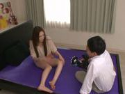 Sweet Japanese teen Asumi Ogawa enjoys rod in pussy