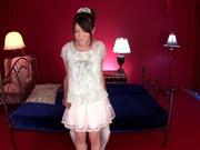 Slim maid Kokoha Mizuki nailed by horny master