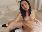 Mina Nakata Hot Asian model shows off her wet pussy picture 11