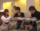 Peachy Asian redhead Yuu Namiki enjoys hardcore copulation picture 14