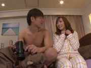 Peachy Asian redhead Yuu Namiki enjoys hardcore copulation