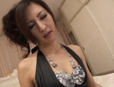 Julia Nanase Asian chick is fucked by two different guys
