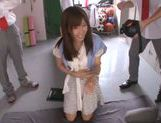 Shameless teacher Minami Kojima gives a blowjob lesson picture 7