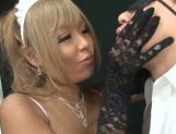Appetizing Japanese AV Model arranges breathtaking tug job