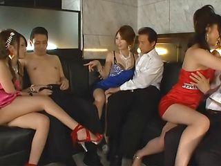 Redhead hot Asian MILF gets fresh cum in mouth