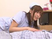 Sexy nurse Yuu Namiki pleases with blowjob