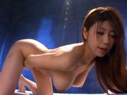 Busty MILF Yuuka Minase gets a creampie from her enemyasian wet pussy, horny asian}