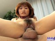 Japanese AV Model Gives Head And Is Fucked From Behindjapanese sex, asian girls}