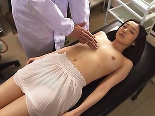Steamy Asian amateur Ryu is checked by horny doc