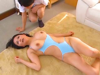 Miki Sato participates in group sex action