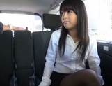 Hot office sex as Asian lady is splashed with jizz