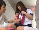Teen Yuri Shinomiya Made To Cum From Sex Toys At School