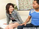 Horny sex doll Yuri Kosaka enjoys hot banging on Asian anal porn picture 4