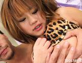 Yu Aine Enjoys Her Toys And Masturbating Her Hairy Pussy