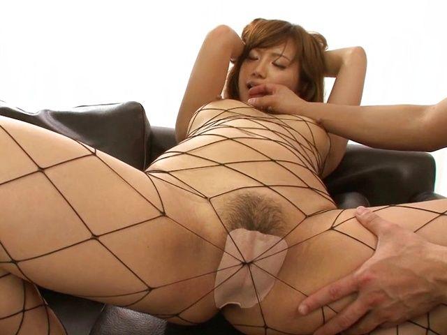 Superb Kokone Mizutani having rough sex with a horny guy