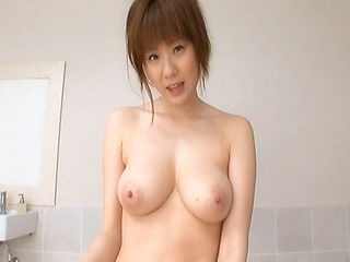 Yuma Asami Hot Asian doll shows off her nice tits