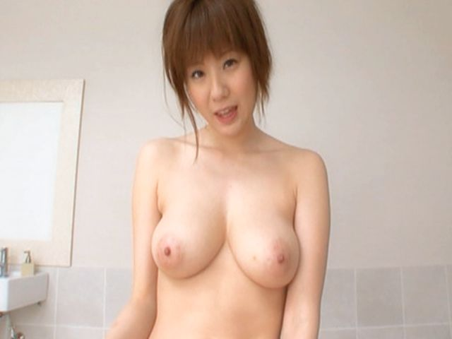 Yuma Asami Hot Asian doll shows off her nice tits