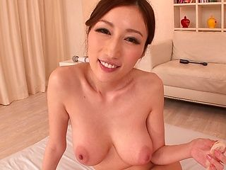 Sex toys help Asian milf Julia reach lots of orgasms