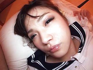 POV tit fuck with a nice teen Mei Yukimoto
