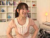 Hot busty AV girl Arisa Misato fucks with horny visitor