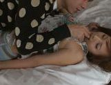 Hot Kokone Mozutani is an amazing milf in bed picture 3