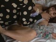 Hot Kokone Mozutani is an amazing milf in bed