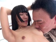 Young teen Ichigo Aoi gets seriously fucked in hardcorejapanese pussy, asian anal}