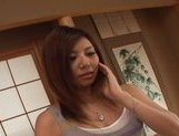 Erika San is Asian hoousewife who likes to surprise her husband with a hard sex session.