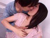 Lovely chick Nana Aoyama flaunts nice big tits picture 13