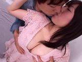 Lovely chick Nana Aoyama flaunts nice big tits picture 14