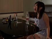 Massage turns wild fro naughty Jun Mamiya