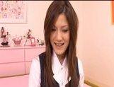 Neiro Suzuka Naughty Asian schoolgirl gets her pussy poked and tits fondled