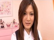 Neiro Suzuka Naughty Asian schoolgirl gets her pussy poked and tits fondled