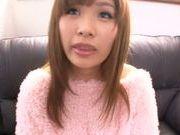 Busty Marumi Yokoyama pleases her horny guy