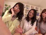 Lesbians Asuka, Reiko Sawamura and Sarina Takeuchi like hardcore picture 14