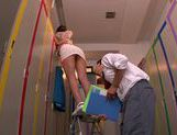 Appetizing milf Mei Asou seduces her horny colleague picture 8