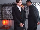 Arousing hottie Miki Horiuchi gets nailed hard picture 11